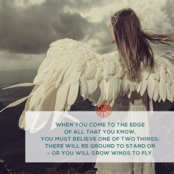 Grow wings
