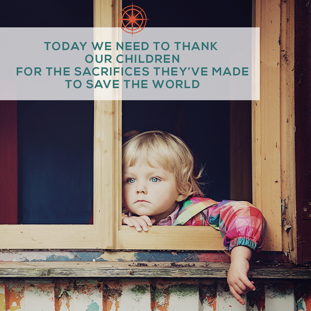 A thank you to our children