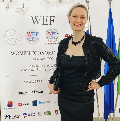 Mi Elfverson, Women Economic Forum